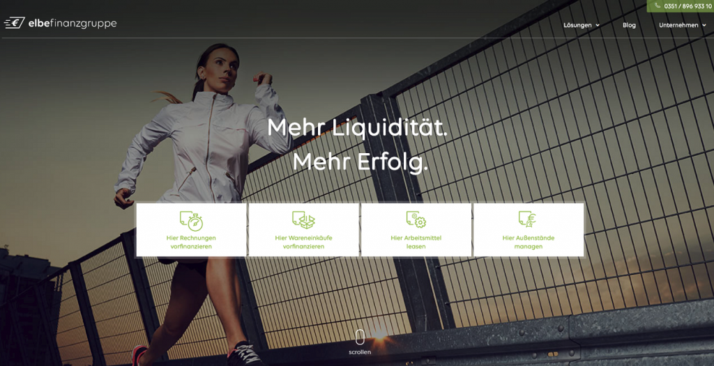 Factoring-Anbieter Elbe-Finanz GmbH
